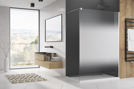 Which shower enclosure is easy to clean?